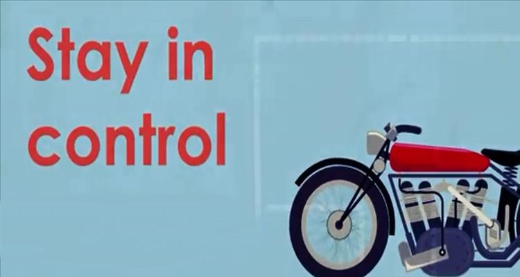Motorbike safety - stay in control