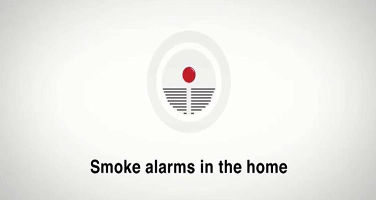 Smoke alarms in the home