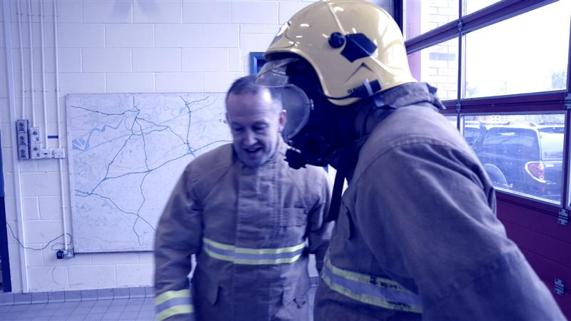 Video - National Firefighter Selection Tests - Enclosed space exercise