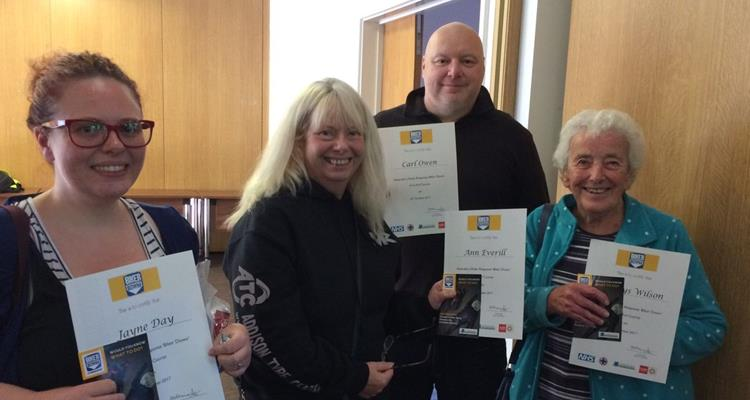 People who have completed our BikerDown course - a FREE course aimed at motorcyclists of all ages and experience