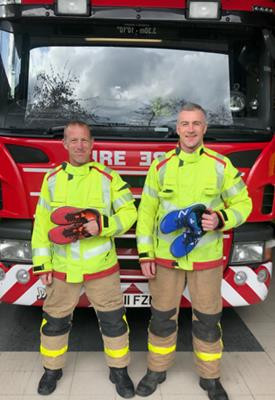 Firefighters to run London Marathon for local charities