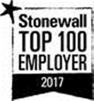 Stonewall Top 100 Employer 2017