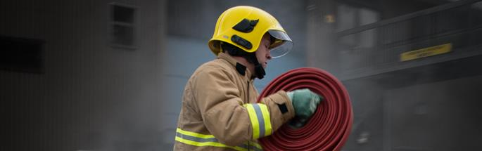 Firefighter training