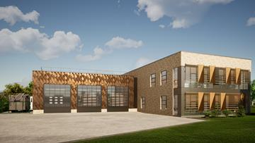 New design for Crewe Fire Station