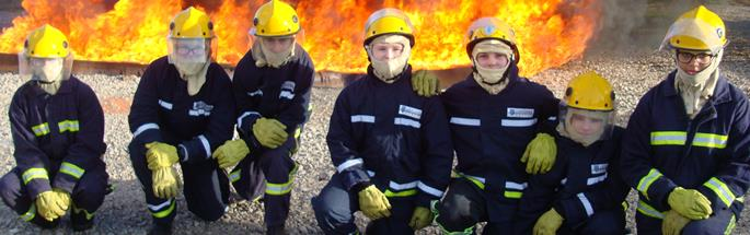 RESPECT teams visited Essar to do live firefighter training in December 2017