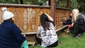 Prince's Trust Team create outdoor space at Ellesmere Port School