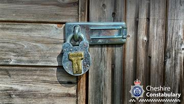 Keep your shed locked
