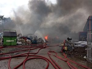 Large fire in Ellesmere Port