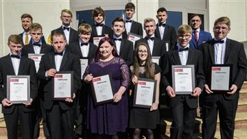 Young people graduate from The Prince's Trust Programme in Ellesmere Port