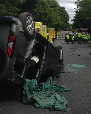 Road traffic collision in Chester
