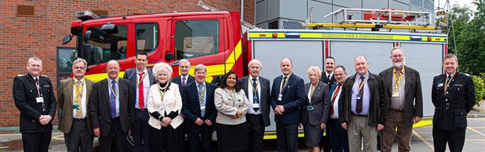 Cheshire Fire Authority welcomes 13 new members