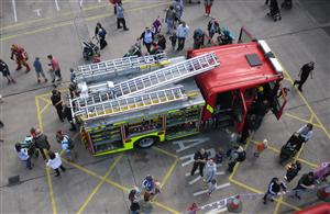 Chester fire station open day 2016
