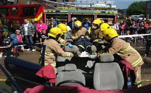 Rescue demonstration at last years open day