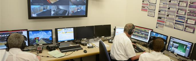 Incident command training suite