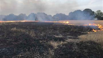 Countryside fire safety advice