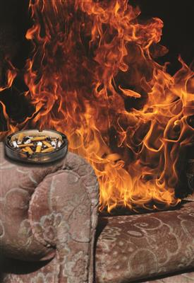 Smoking is the biggest cause of accidental fires in the home that result in people dying