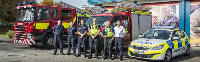 Cheshire Fire and Rescue Service and Cheshire Police