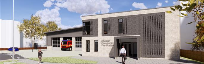 Plans for Chester Fire Station