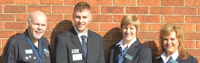 Members of the Business Safety Team