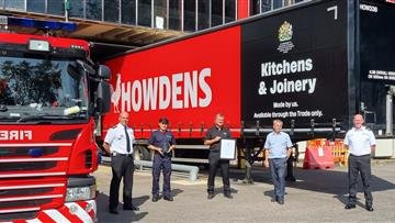 On-call firefighter support recognition for Howden's Runcorn
