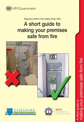 A short guide to making your business safe from fire