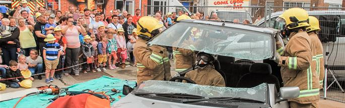 Ellesmere Port fire station open day