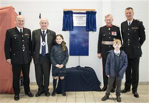 Official opening of Penketh Community Fire Station on 2 February 2017