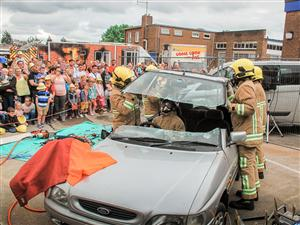 RTC demonstration at Ellesmere Port open day