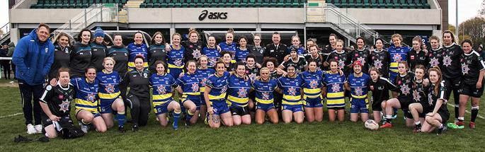 Warrington Wolves and Widnes Vikings Women's teams