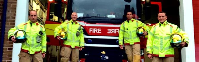 Widnes firefighters