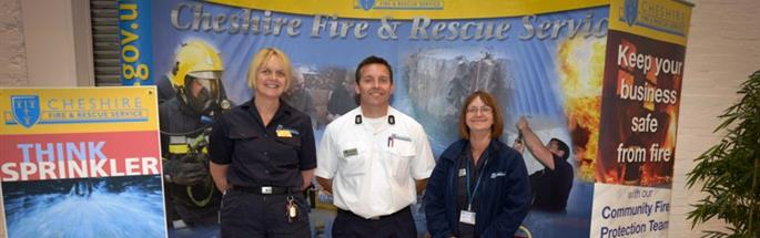 Community Fire Protection staff