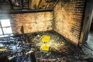 Fire in the roof of a restaurant in Sandbach