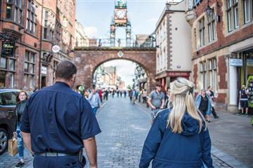 Business safety team in Chester