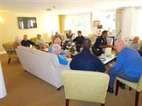 Wilmslow coffee morning at Hanna Court