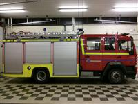 Wilmslow fire engine