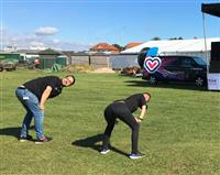Princes Trust do yoga at Active Cheshire
