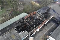Fire at business in Cheshire