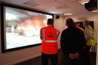 Cheshire Fire and Rescue Service's incident command training suite