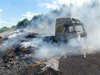 HGV fire on A500 Crewe