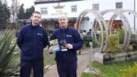 Firefighters visit Old Hall Farm