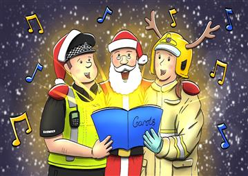 Join the Emergency Services…in song!