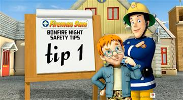 Safety advice from Fireman Sam