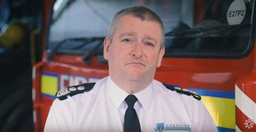 Chief Fire Officer Mark Cashin