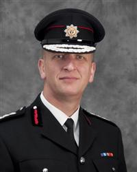 Chief Fire Officer Paul Hancock