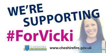 We're supporting #ForVicki