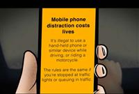 Mobile phone distaction costs lives