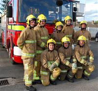 Alsager firefighters