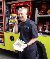 Fire safety leaflets are ready at the Artisan Market!