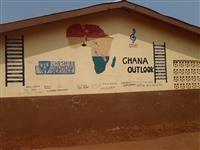 School in Gbatana built by Cheshire Fire cadets in 2011