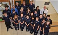 Fire cadets and leaders who are going to Nepal